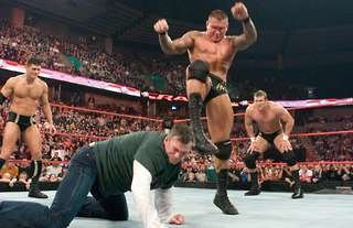 Orton's Punt Kick is one move WWE have banned