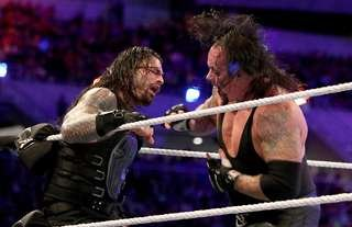 Undertaker couldn't put Reigns over at WrestleMania 33