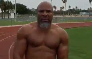 Shannon Briggs looks GOOD!