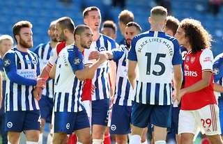 Arsenal's defeat away at Brighton summed up the current state of the club