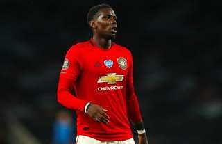 Paul Pogba returned to first-team action last night vs Tottenham