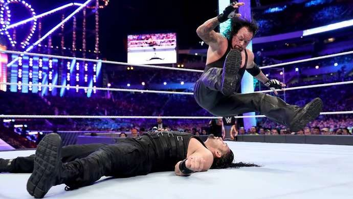 Reigns didn't want to go over The Undertaker