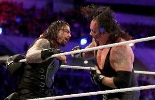 Reigns didn't want to beat Undertaker at WrestleMania