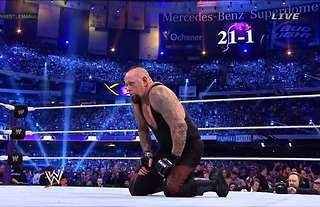 Undertaker's streak was broken at WM30