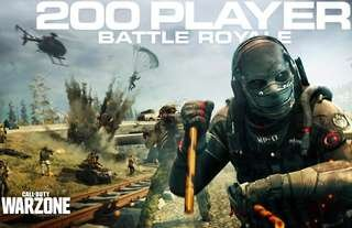A 200-player Battle Royale mode is now live on Call of Duty!