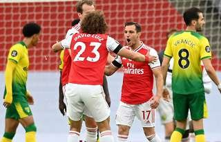 Arsenal beat Norwich 4-0