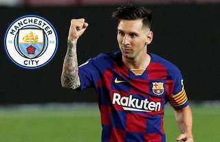 Lionel Messi to Manchester City? We've heard this before...