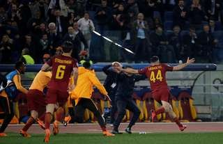 Drury's words were iconic during Roma vs Barca