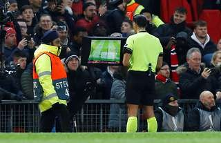 Man Utd have benefitted from a number of VAR decisions in 2019/20.
