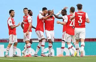 Arsenal are in the FA Cup final!