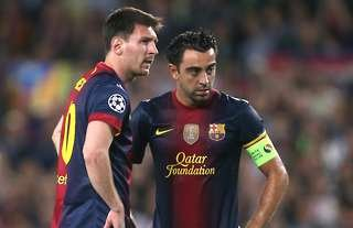 Lionel Messi will be eyeing up Xavi's assist record from 2008/09