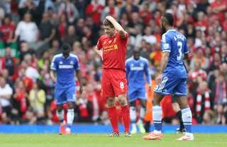 Gerrard slipped to hand Man City the title in 2014