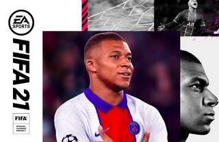 Kylian Mbappe is the FIFA 21 cover star