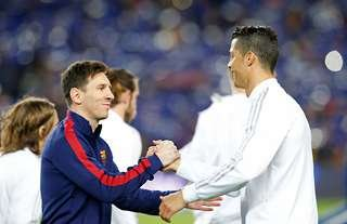 Cristiano Ronaldo & Lionel Messi are the only players to have scored more than 100 Champions League goals