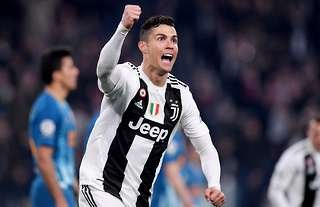 Ronaldo has netted three in the Champions League knockouts