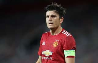 Harry Maguire has played over 5000 mins for Man Utd in 2019/20