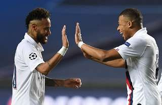 Neymar's pass to Kylian Mbappe was a thing of beauty