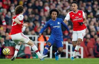 Willian has arrived at Arsenal