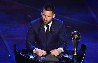 Lionel Messi FIFA The Best awards