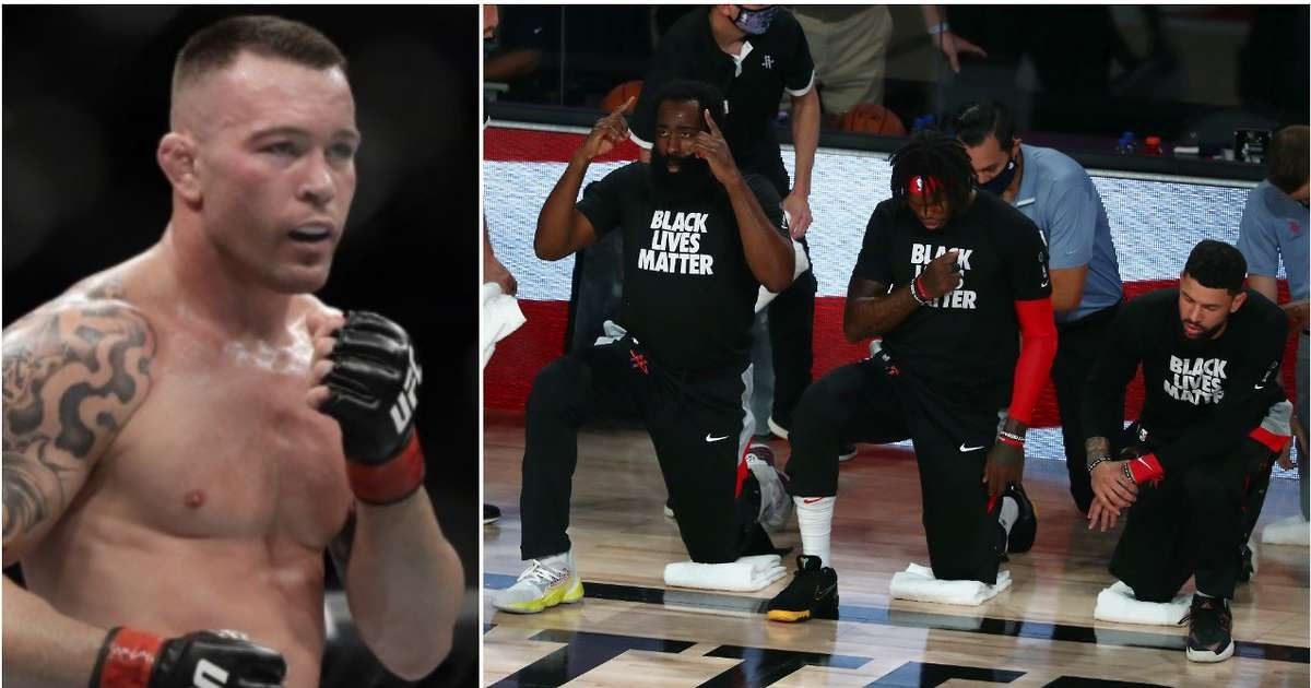 UFC's Colby Covington launches shocking attack on NBA players for boycotting games