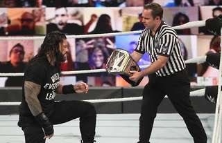 Reigns will get a long run as champ in WWE