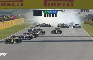 The Tuscany GP was carnage from start to finish