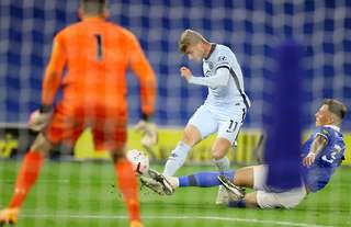Werner debuted for Chelsea on Monday