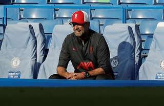 Jurgen Klopp was not happy with the reaction from his bench
