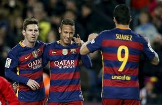 Messi, Suarez and Neymar were untouchable at Barcelona