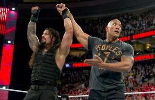 The Rock responded to Roman's latest WWE win