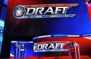 The WWE Draft takes place in October