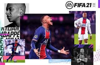 Mbappe FIFA 21 cover star