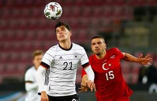 Kai Havertz was the star man during Germany's 3-3 draw with Turkey