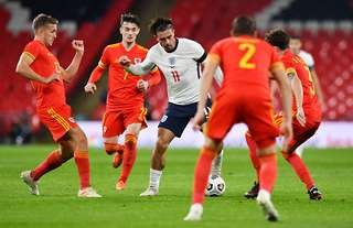 Jack Grealish for England against Wales