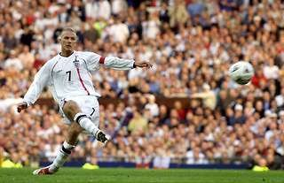 England could have won the World Cup if Beckham missed