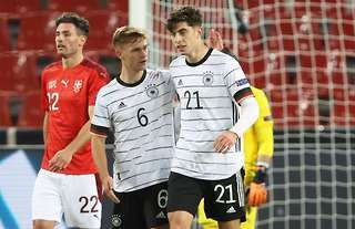 Kai Havertz scored and assisted in Germany's 3-3 draw with Switzerland