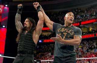 The Rock and Reigns could meet at WrestleMania