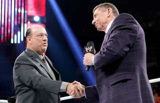 Heyman has opened up on his relationship with McMahon