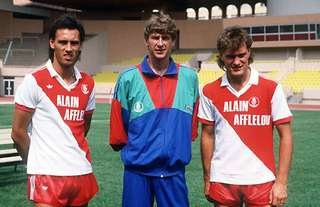 Arsene Wenger and Glenn Hoddle