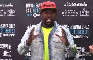 Former champion Floyd Mayweather has criticised boxing's governing bodies