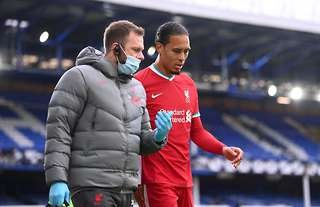 Do Liverpool need to replace Virgil van Dijk in January?