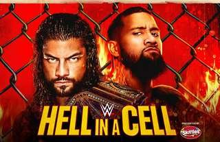 WWE Hell in a Cell takes place on Sunday
