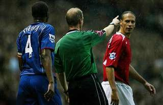 Manchester United vs Arsenal in 2004
