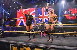 Burch has captured the NXT Tag Team Championships in WWE
