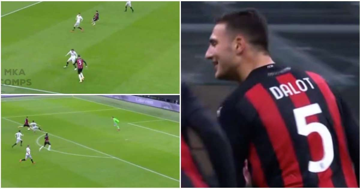 Diogo Dalot's highlights in MOTM display for AC Milan show he can still be a star at Man Utd