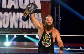 Strowman comments on his WWE title run