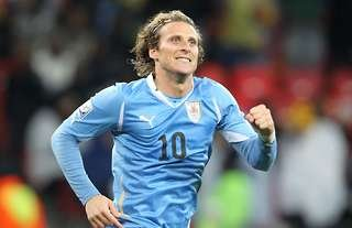 Diego Forlan won the Golden Ball at the 2010 World Cup