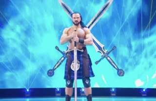 McIntyre's sword has an epic WWE origin story