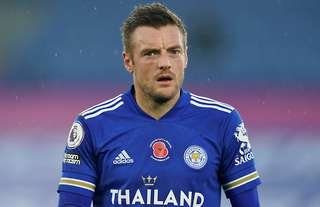 Jamie Vardy will have Liverpool's makeshift defence in his sights