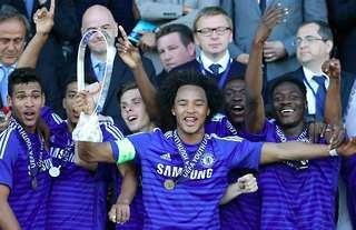 Former Chelsea man Izzy Brown scored twice in the final